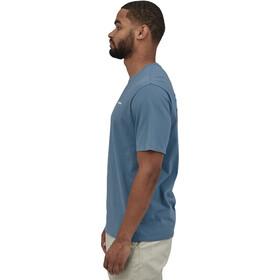Patagonia P-6 Logo Organic T-Shirt Homme, pigeon blue